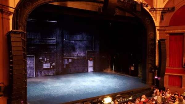 Broadway Theatre - 53rd Street, secção: Front Mezzanine L, fila: A, lugar: 4