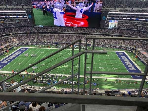 AT&T Stadium, secção: 442, fila: 9, lugar: 1