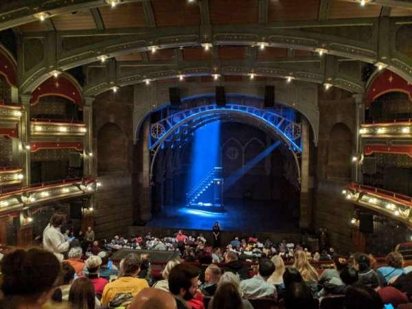 Lyric Theatre, secção: Dress Circle C, fila: G, lugar: 119