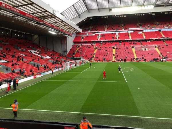 Anfield, secção: KM, fila: 14, lugar: 200