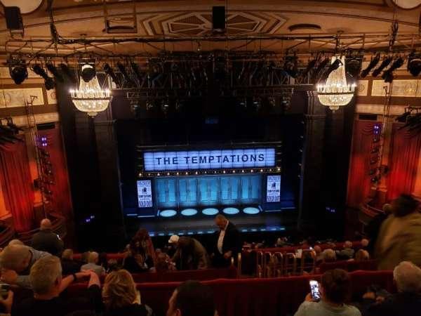 Imperial Theatre, secção: Rear Mezzanine 3, fila: D, lugar: 10