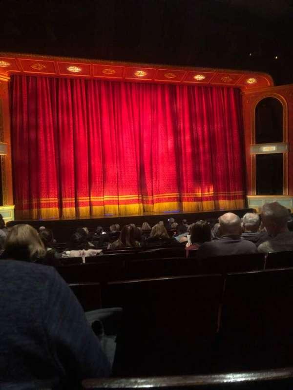 Marquis Theatre, secção: Orchestra C, fila: Q, lugar: 106