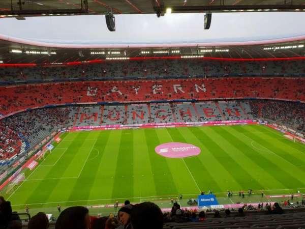 Allianz Arena, secção: 302, fila: 14, lugar: 23