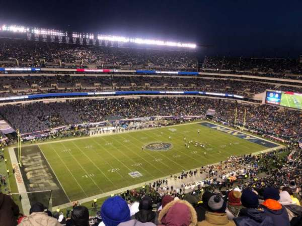 Lincoln Financial Field, secção: 241, fila: 14, lugar: 22