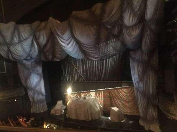 Majestic Theatre, secção: Front Mezzanine R, fila: A, lugar: 12