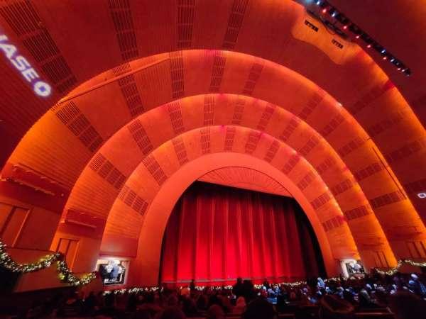Radio City Music Hall, secção: Orchestra 6, fila: zz, lugar: 609