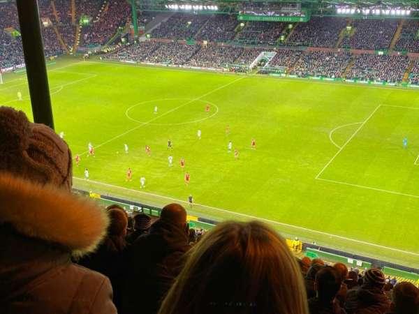 Celtic Park, secção: 401, fila: Y, lugar: 26