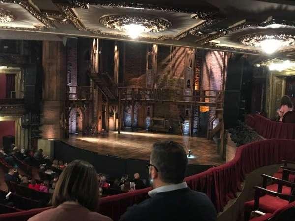 CIBC Theatre, secção: Dress Circle R, fila: C, lugar: 8