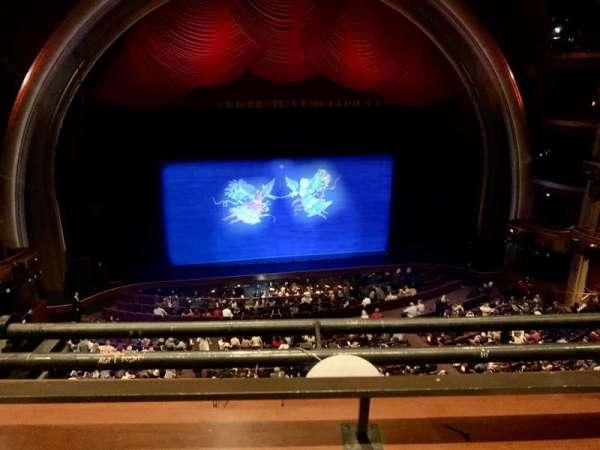 Dolby Theatre, secção: Mezzanine 2C, fila: A, lugar: 20