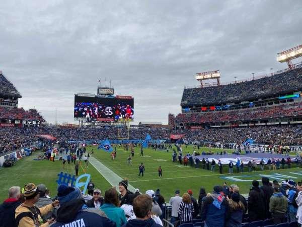 Nissan Stadium, secção: 127, fila: N, lugar: 1