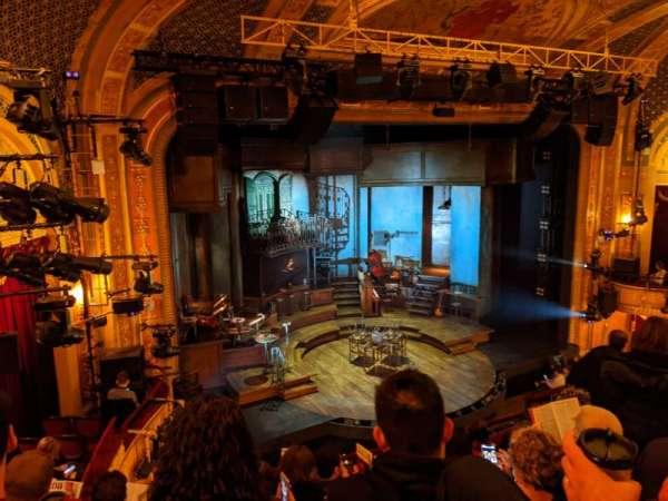 Walter Kerr Theatre, secção: Mezzanine L, fila: G, lugar: 19