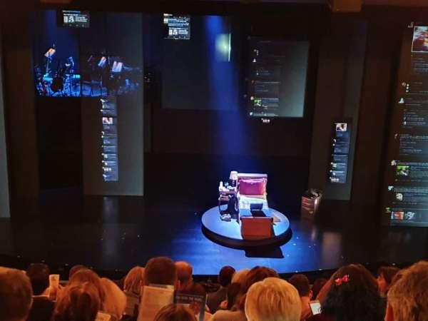 Music Box Theatre, secção: Mezzanine L, fila: J, lugar: 7