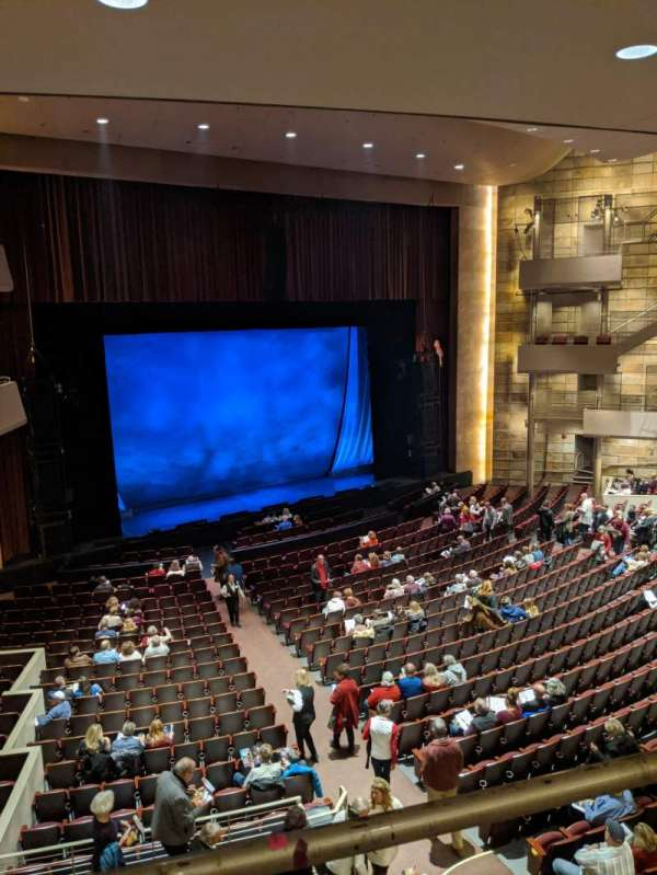 Temple Buell Theatre, secção: Mezzanine, fila: F, lugar: 201