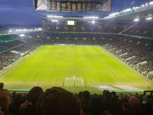 Celtic Park, secção: 416, fila: Q, lugar: 25