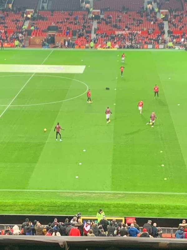 Old Trafford, secção: N5415, fila: 6, lugar: 30