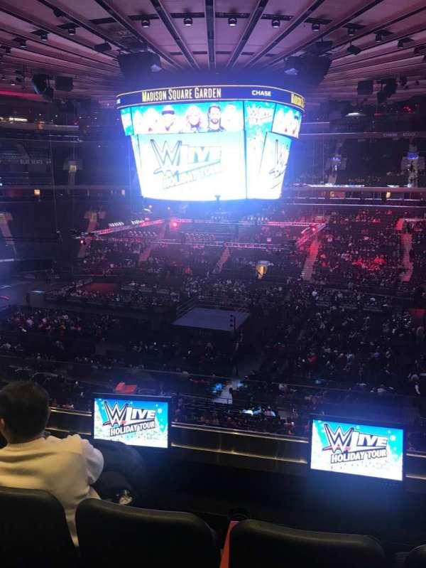 Madison Square Garden, secção: 225, fila: 3, lugar: 14