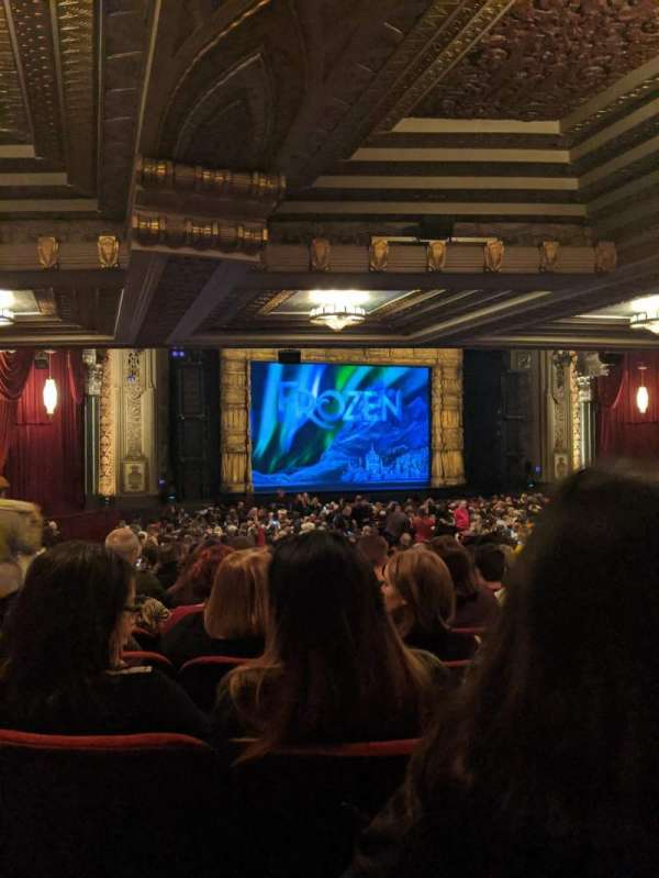 Hollywood Pantages Theatre, secção: Orchestra L, fila: XX, lugar: 314