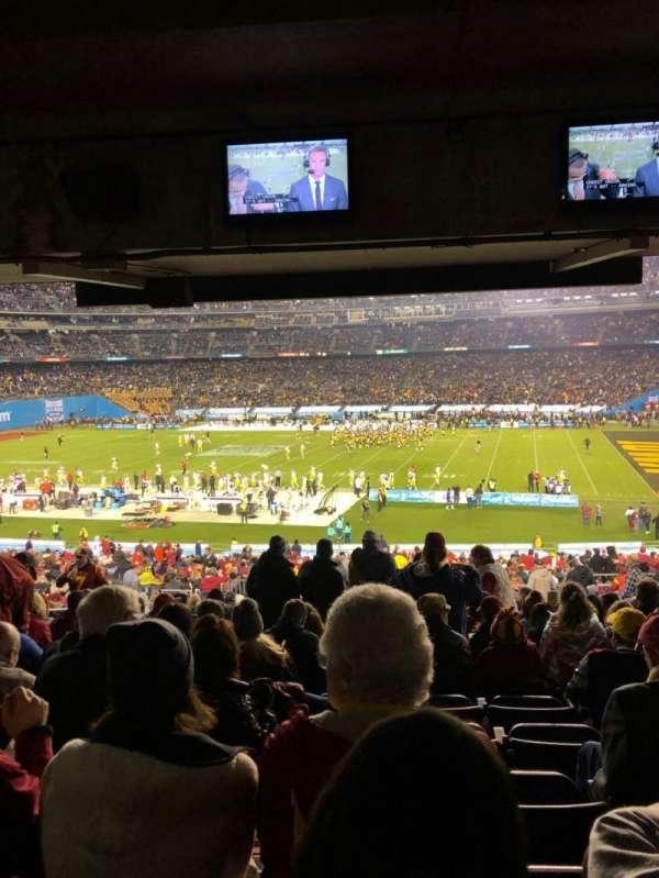 San Diego Stadium, secção: P9, fila: 22, lugar: 9