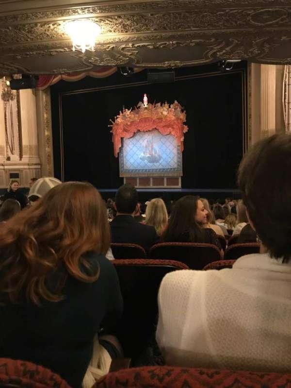 Citizens Bank Opera House, secção: Orchestra RC, fila: S, lugar: 18