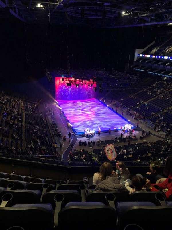 The O2 Arena, secção: 410, fila: F