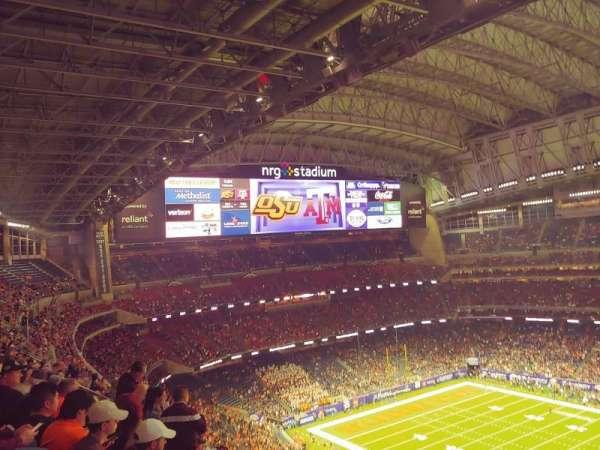 NRG Stadium, secção: 631, fila: K, lugar: 26