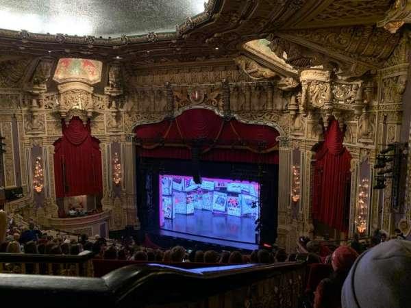 James M. Nederlander Theatre, secção: Balcony R, fila: P, lugar: 364