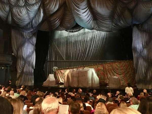 Majestic Theatre, secção: Orchestra C, fila: K, lugar: 111