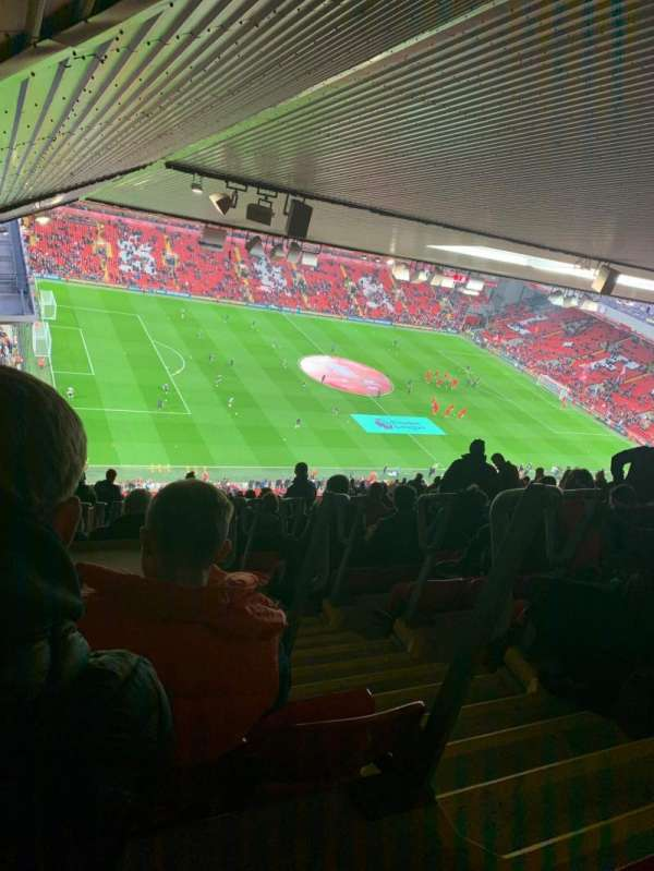 Anfield, secção: U1, fila: 87, lugar: 23