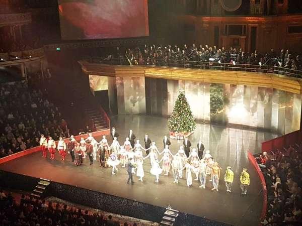 Royal Albert Hall, secção: Rausing Circle V, fila: 1, lugar: 146