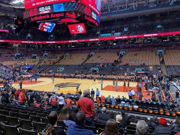 Scotiabank Arena, secção: 118, fila: 16, lugar: 7