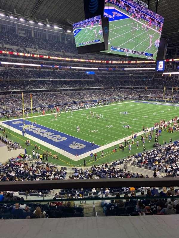 AT&T Stadium, secção: 343, fila: 1, lugar: 15