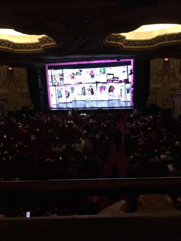James M. Nederlander Theatre, secção: Dress Circle RC, fila: A, lugar: 226