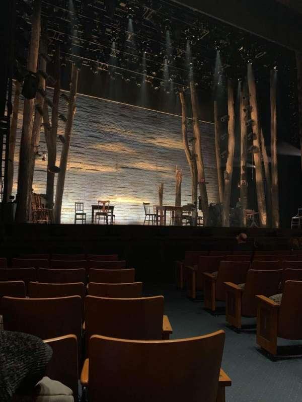 The Kennedy Center Eisenhower Theater, secção: Orch, fila: J, lugar: 3