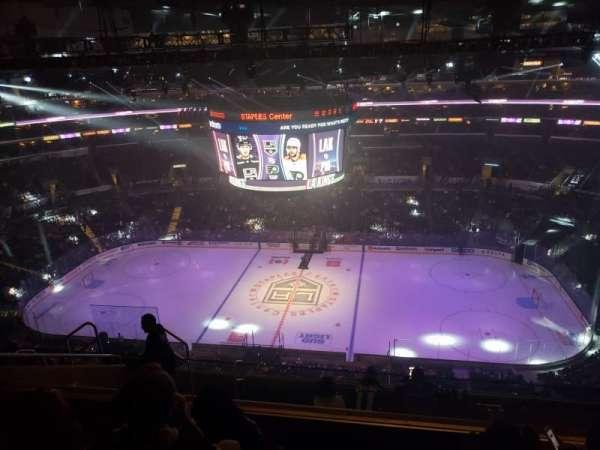 Staples Center, secção: 334, fila: 9, lugar: 15