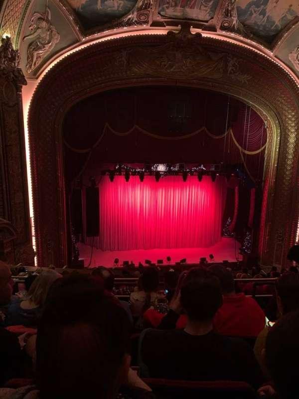 Wang Theatre, secção: Balcony lc, fila: K, lugar: 11