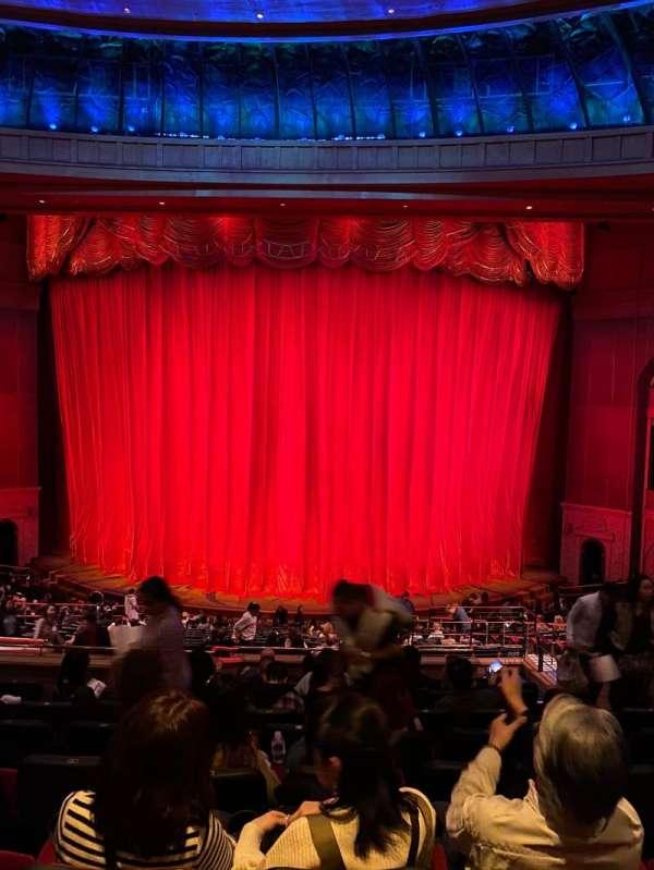 O Theatre, secção: 203, fila: W, lugar: 19
