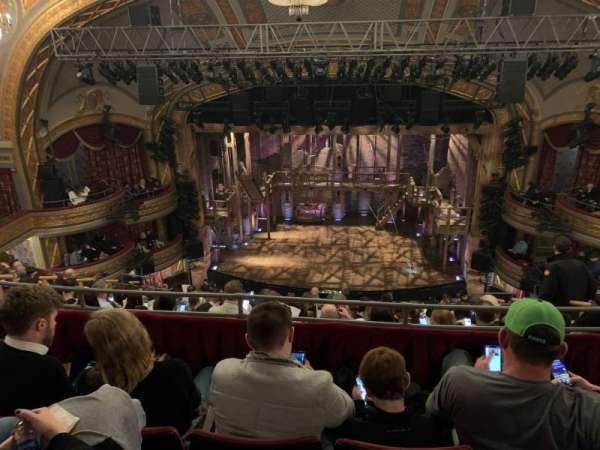 Richard Rodgers Theatre, secção: Rear Mezzanine C, fila: J, lugar: 105