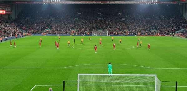 Anfield, secção: 125, fila: 29