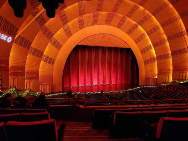 Radio City Music Hall, secção: 1st Mezzanine 7, fila: E, lugar: 701