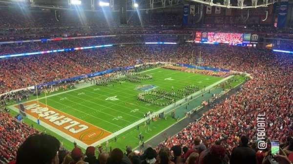 State Farm Stadium, secção: 452, fila: 10, lugar: 21