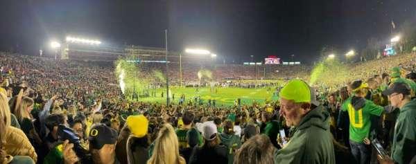 Rose Bowl, secção: 28A, fila: 26
