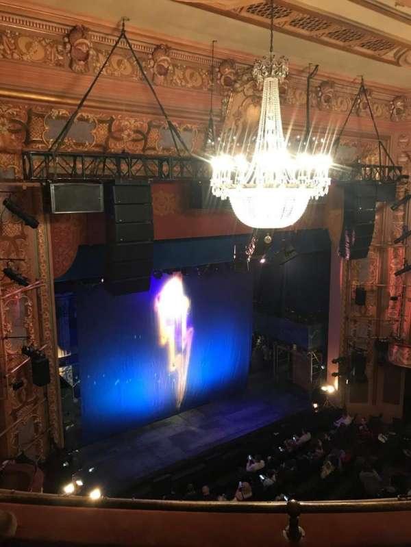 Longacre Theatre, secção: Balcony L, fila: C, lugar: 20