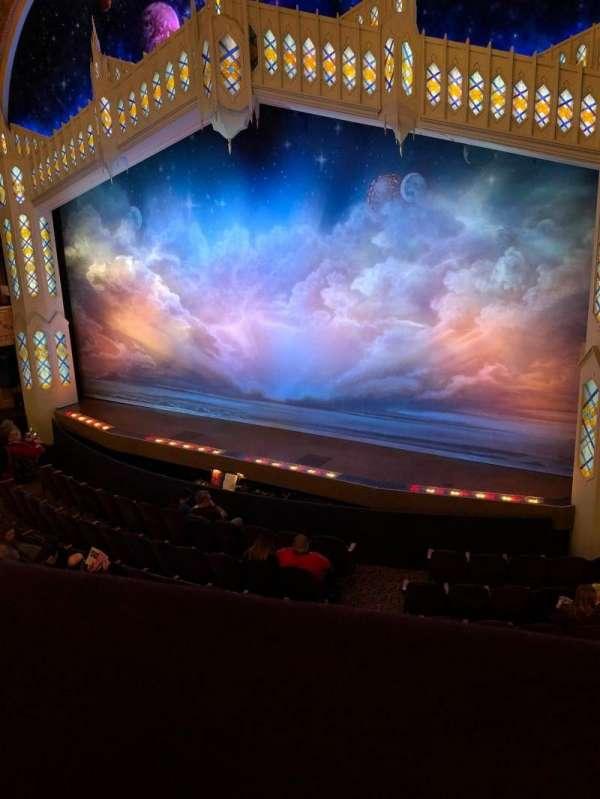 Eugene O'Neill Theatre, secção: Mezzanine R, fila: A, lugar: 14