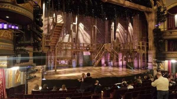 Richard Rodgers Theatre, secção: Orchestra L, fila: M, lugar: 19