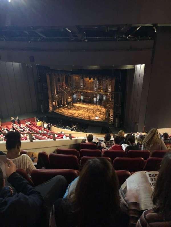 Andrew Jackson Hall, secção: Balcony, fila: U, lugar: 2