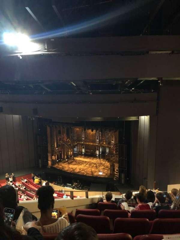 Andrew Jackson Hall, secção: Balcony, fila: U, lugar: 4