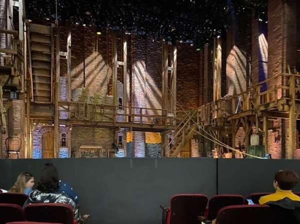 CIBC Theatre, secção: Orchestra L, fila: F, lugar: 1
