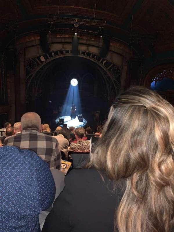 Curran Theater, secção: Mezzanine C, fila: F, lugar: 108