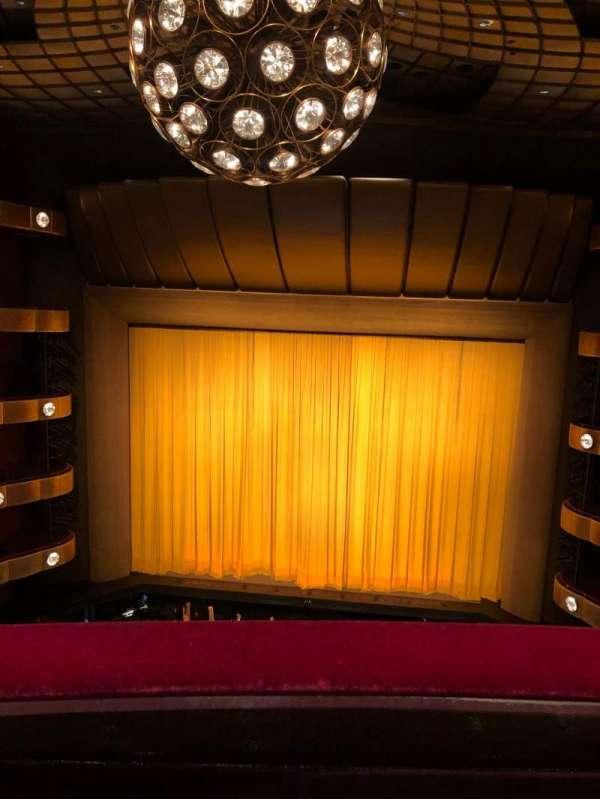 David H. Koch Theater, secção: Fourth Ring, fila: A, lugar: 112