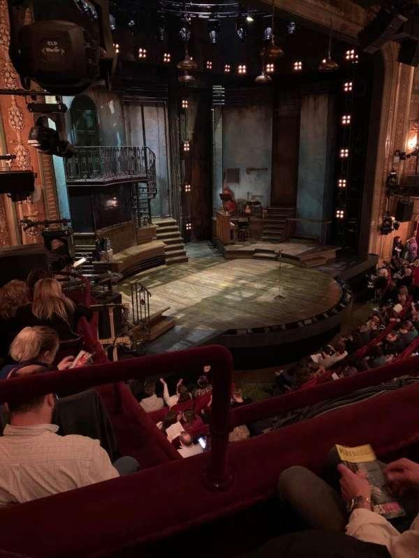 Walter Kerr Theatre, secção: Mezzanine L, fila: 2, lugar: 25